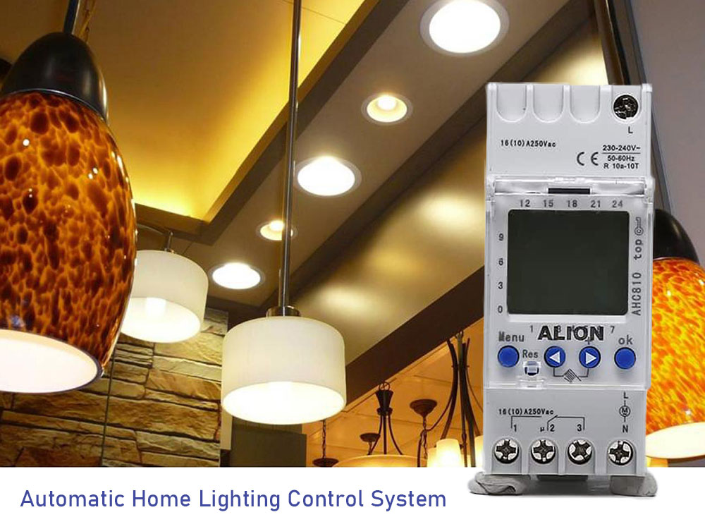 Time Switch for Home Lighting