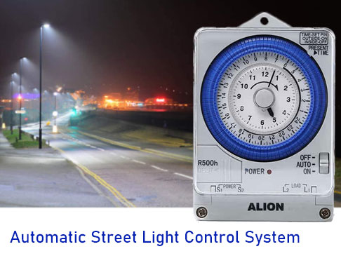 Timer Switch for Street Lights